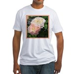 Mama's Two Beautiful Roses Fitted T-Shirt