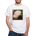 Mama's Two Beautiful Roses White T-Shirt