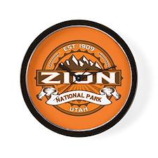 Zion Pumpkin Wall Clock