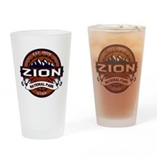 Zion Vibrant Drinking Glass