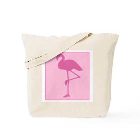 Pink Flamingo Tote Bag