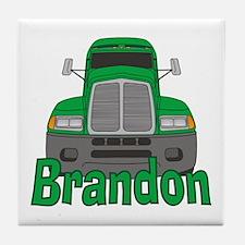 Trucker Brandon Tile Coaster