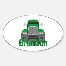 Trucker Brandon Decal