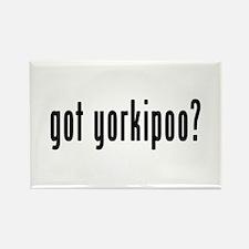 GOT YORKIPOO Rectangle Magnet