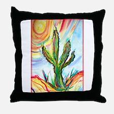 Saguaro Cactus, art Throw Pillow