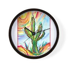 Saguaro Cactus, art Wall Clock