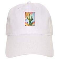 Saguaro Cactus, art Baseball Cap