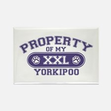 Yorkipoo PROPERTY Rectangle Magnet