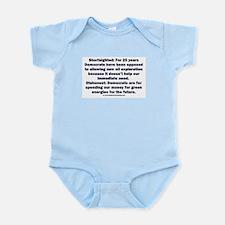 Democrats Shortsighted Dishonest Infant Bodysuit