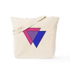 Cute Bi pride Tote Bag