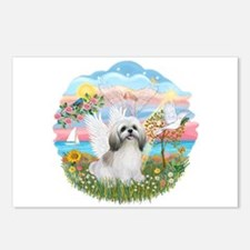 AngelStar-ShihTzu#23 Postcards (Package of 8)