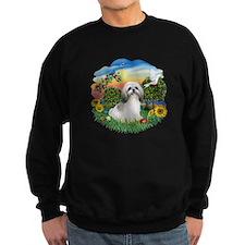 Bright Country-ShihTzu#23 Sweatshirt