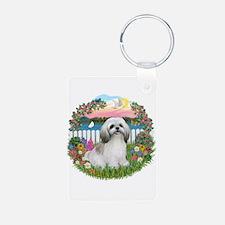 Garden-Shore-ShihTzu#23 Keychains
