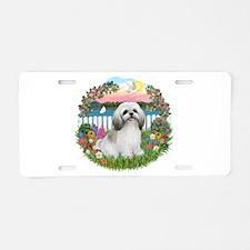 Garden-Shore-ShihTzu#23 Aluminum License Plate