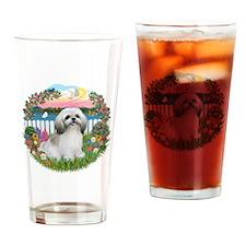 Garden-Shore-ShihTzu#23 Drinking Glass