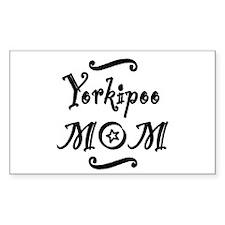 Yorkipoo MOM Bumper Stickers