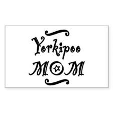Yorkipoo MOM Decal