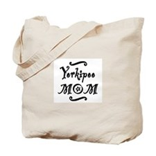 Yorkipoo MOM Tote Bag