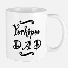 Yorkipoo DAD Small Mugs
