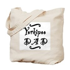Yorkipoo DAD Tote Bag