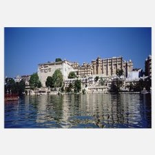 Hotels on the waterfront, Udaipur City Palace, Fat