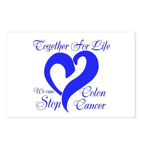 Stop Colon Cancer Postcards (Package of 8)