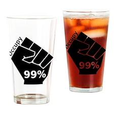 OccupyL Drinking Glass