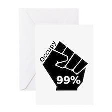 OccupyL Greeting Card