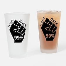 OccupyFB Drinking Glass