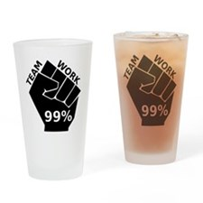 OccupyT Drinking Glass