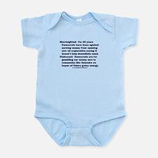 Democrats Shortsighted Dishonest V2 Infant Bodysui