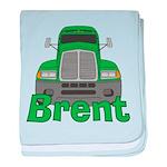 Trucker Brent baby blanket