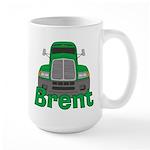 Trucker Brent Large Mug