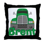 Trucker Brent Throw Pillow
