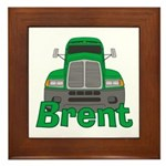Trucker Brent Framed Tile