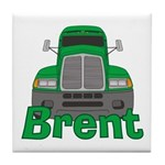 Trucker Brent Tile Coaster