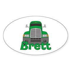Trucker Brett Decal