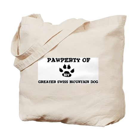 Pawperty: Greater Swiss Mount Tote Bag