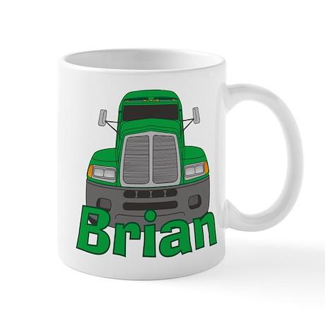 Trucker Brian Mug