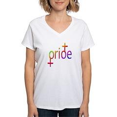 Gay Pride Female Shirt