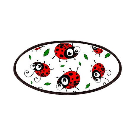 Cute Ladybug pattern Patches