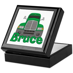 Trucker Bruce Keepsake Box