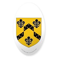 Crestina's Sticker (Oval 50 pk)