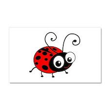 Cute Ladybug Car Magnet 20 x 12