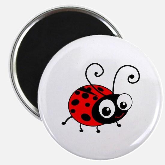 "Cute Ladybug 2.25"" Magnet (100 pack)"