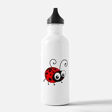 Cute Ladybug Water Bottle