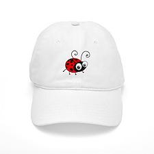 Cute Ladybug Baseball Cap