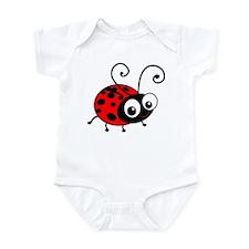 Cute Ladybug Infant Bodysuit