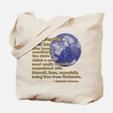 Acquainted With Himself Tote Bag