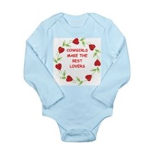 cowgirls Long Sleeve Infant Bodysuit